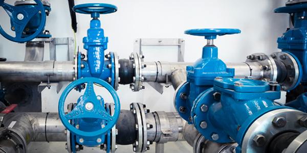 vannes usine eau potable