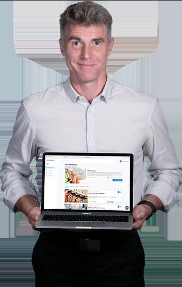 Présentation de la plateforme d'apprentissage à distance e-learning