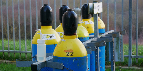 sécurité remplacement bouteille chlore gazeux