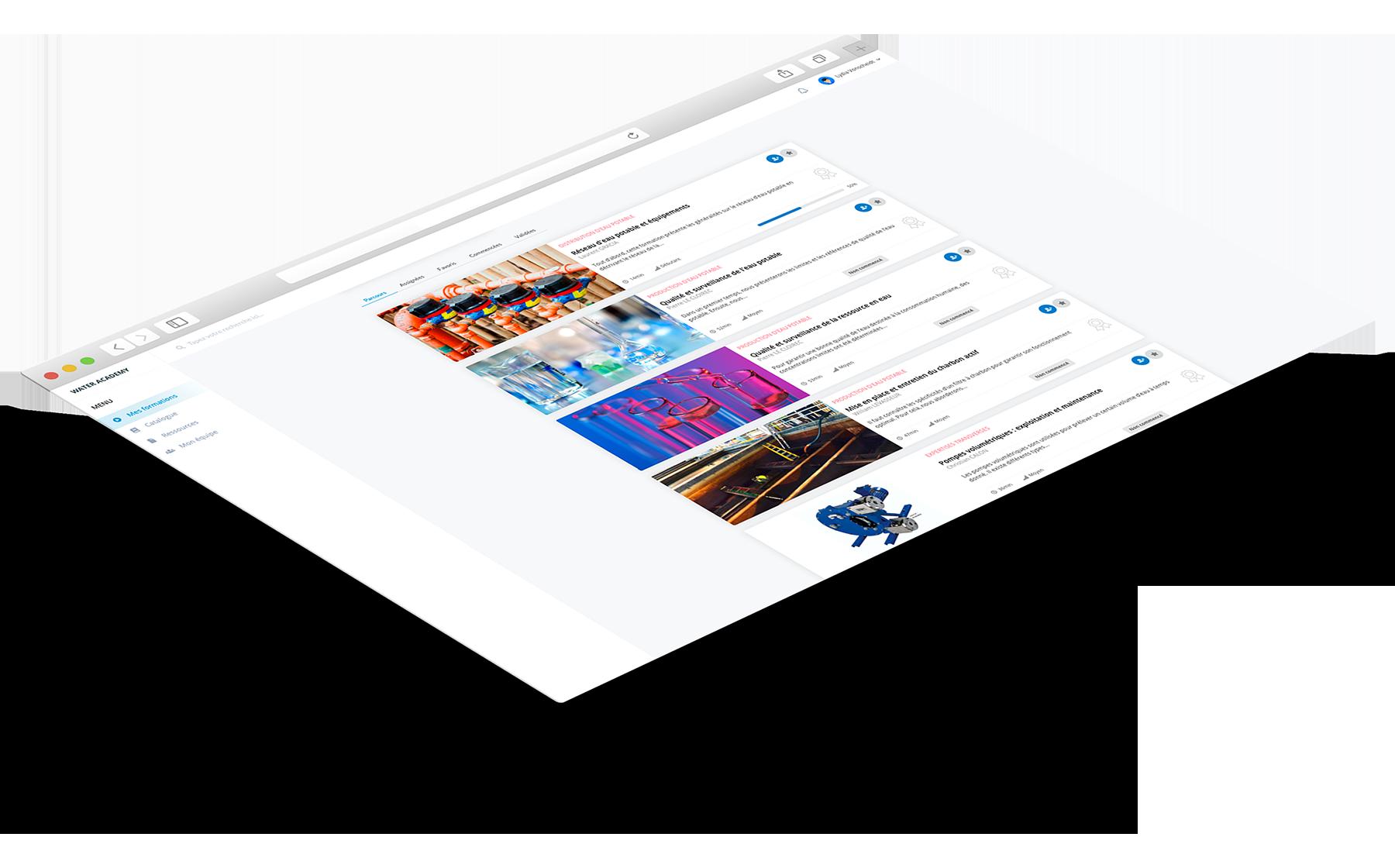 presentation de l'offre de plateforme e-learning